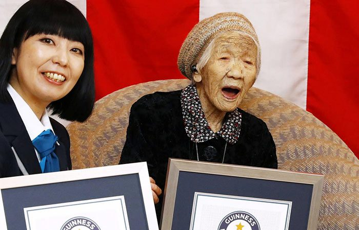 Japanese woman extends record as world's oldest person turning 117