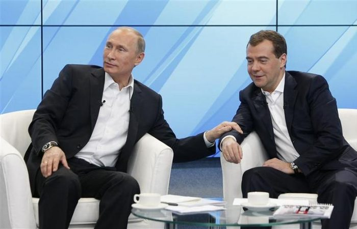 Putin: Russian PM Dmitry Medvedev quits