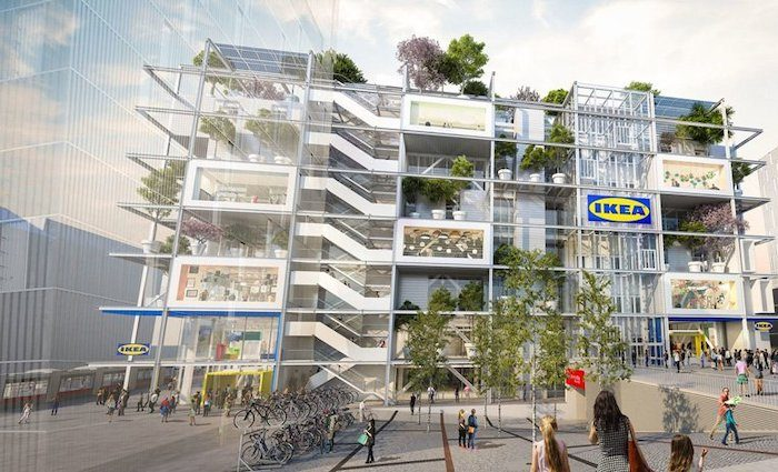 IKEA developing its first car-free store