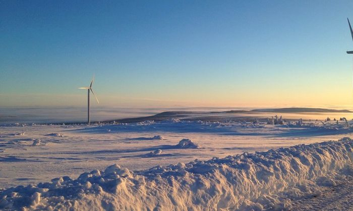 Sweden set new wind power record