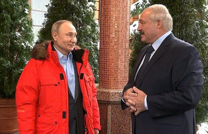 Putin, Lukashenka meet to discuss cooperation in energy sector