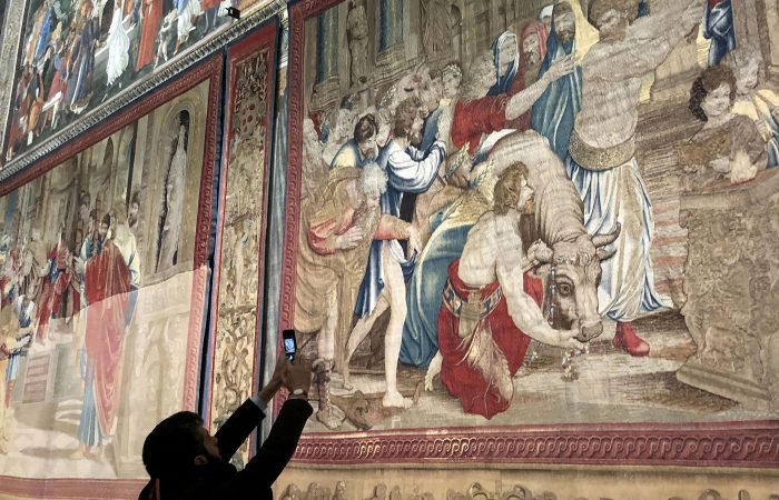 Italy: For one week only, Raphael's Sistine Chapel tapestries go on show
