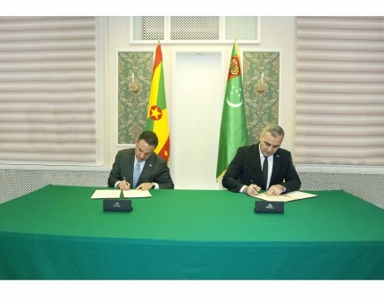 Turkmenistan establishes diplomatic relations with Grenada