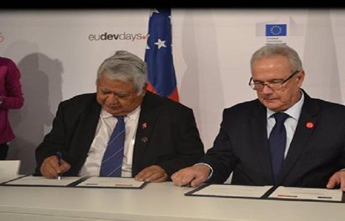 The EU, Samoa step up their cooperation