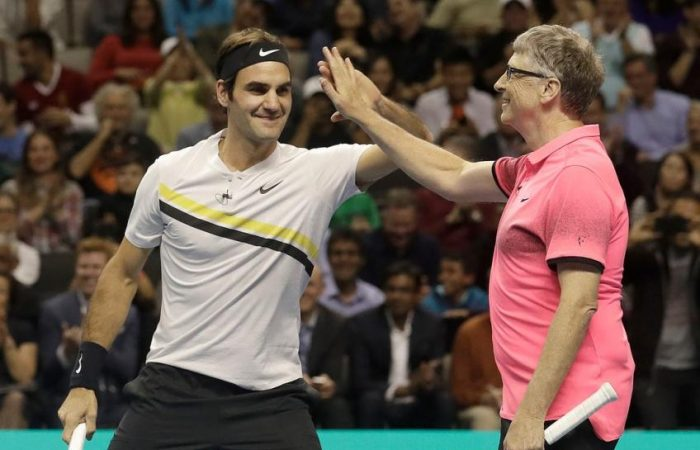 Federer, Nadal shatter attendance record in 'Match in Africa'