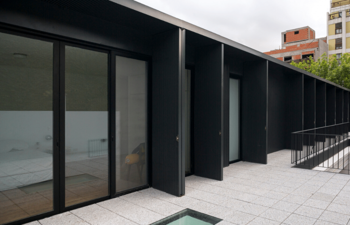 Architects transform rundown rental into a solar-powered home