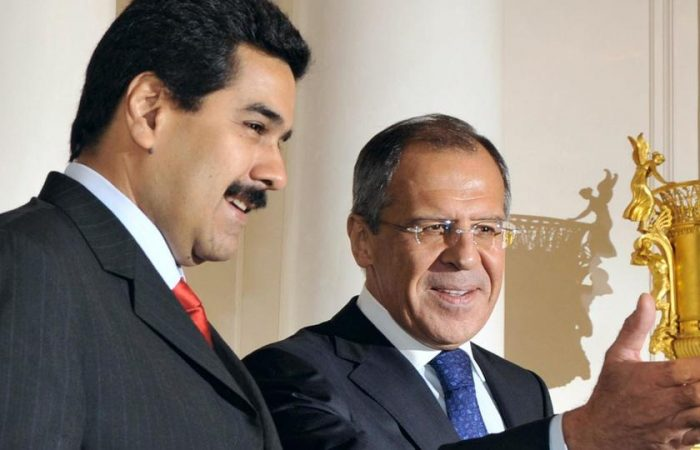 Russia foreign minister visits Venezuela as US warns of sanctions reprisal