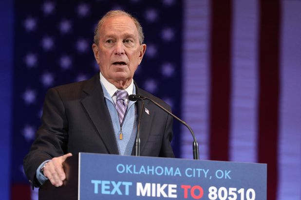 Bloomberg's presidential campaign cost him almost $1bn