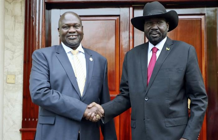 South Sudan's leader Kiir unveils new cabinet