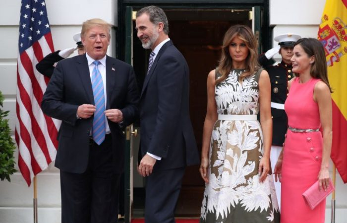 Donald, Melania Trump postpone April state visit with King and Queen of Spain