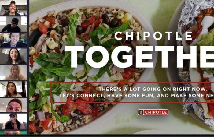 Chipotle's new approach to social distancing with live streaming