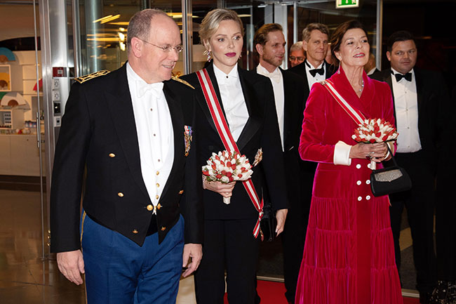 Monaco royal family cancel annual Rose Ball for the first time since 1954