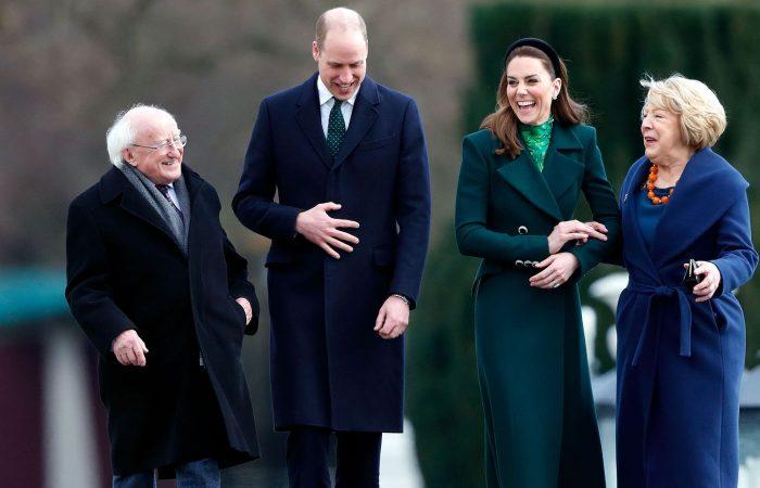 Prince William jokes he and Kate are 'spreading' coronavirus