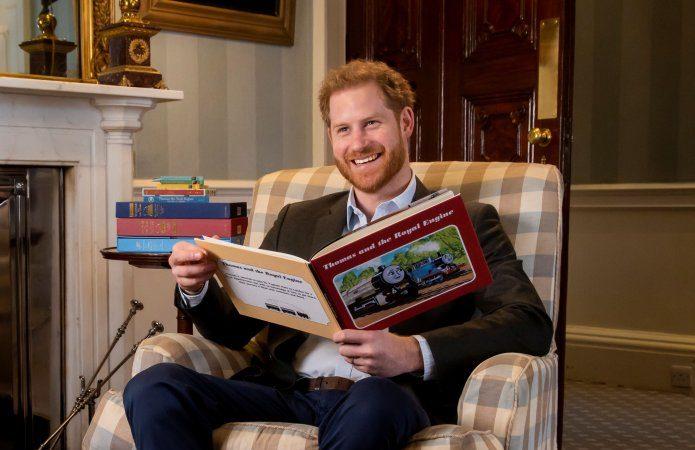 Prince Harry helps mark 75th anniversary of Thomas the Tank Engine