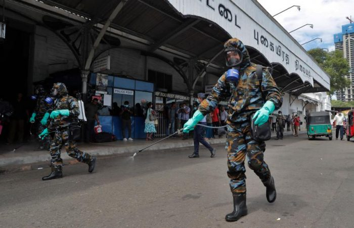 The curfew update in Sri Lanka
