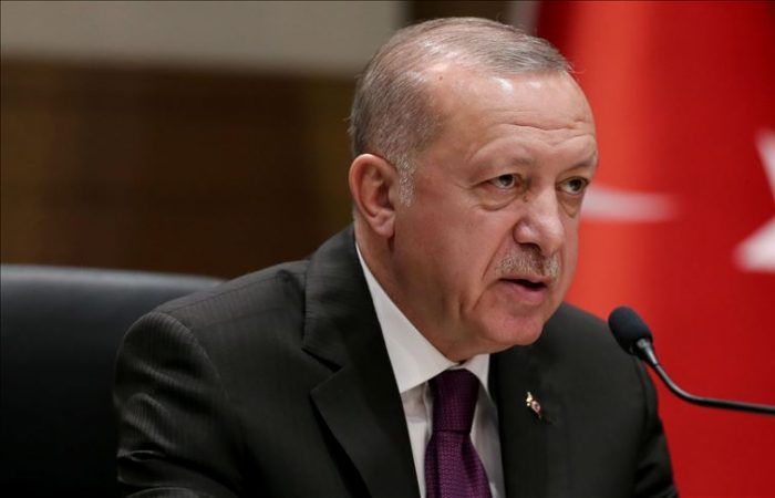 Erdogan: Opposition aid drives an attempt to create 'parallel state'