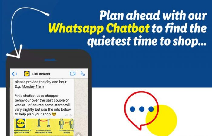 WhatsApp chatbot helps customers find the perfect time to shop