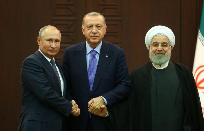 Russia, Turkey, Iran agree to remove Syria's Assad