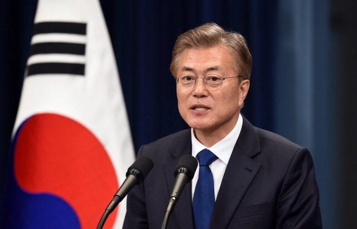 South Korean president says surge no reason to panic