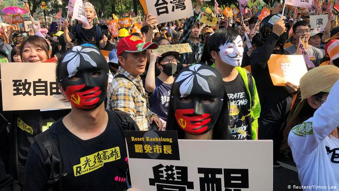 Taiwan plans revoking Hong Kong's special status on law fears