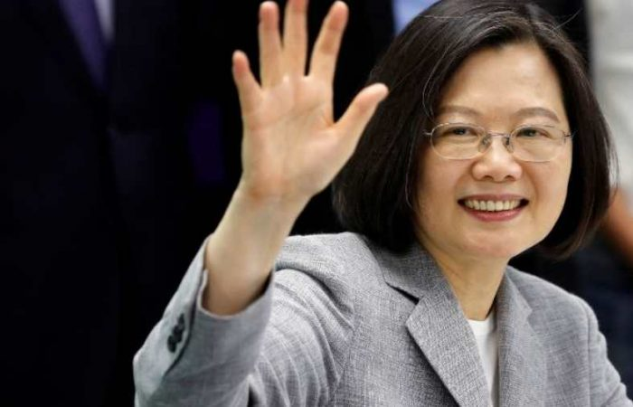 Taiwan's president rejects 'one country, two systems' deal with China