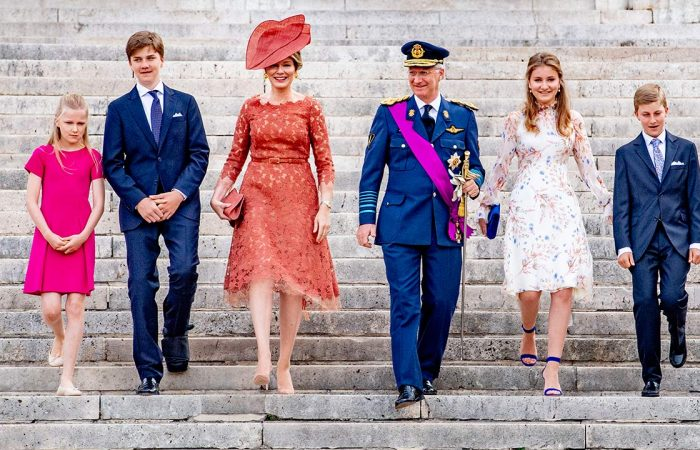 Crown Princess Elisabeth of Belgium signs up to military academy