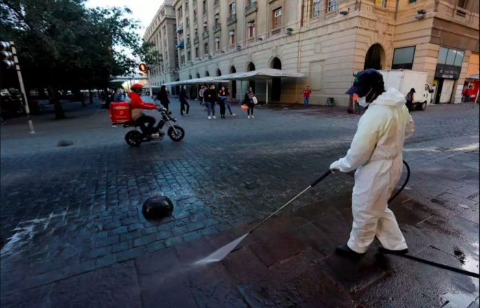 Chile's capital goes into strict lockdown after coronavirus surge