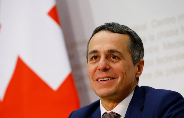 Swiss minister sees coronacrisis as opening for diplomacy