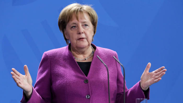 Merkel calls for a cease-fire in Libya