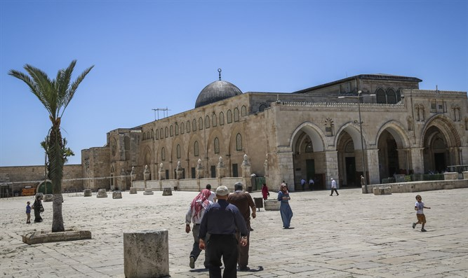 Al Aqsa Mosque on the Temple Mount to reopen