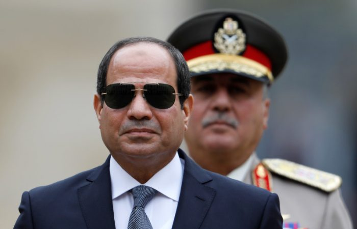 Egypt's president orders army to be ready for missions abroad amid tensions over Libya