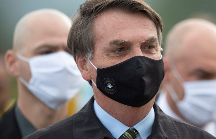 Brazilian Bolsonaro appeals court order directing him to wear face mask