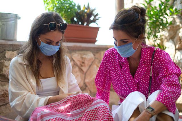 Jordan's Queen Rania supports sustainable tourism efforts