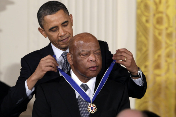 The US Presidents celebrate life of late Rep. John Lewis