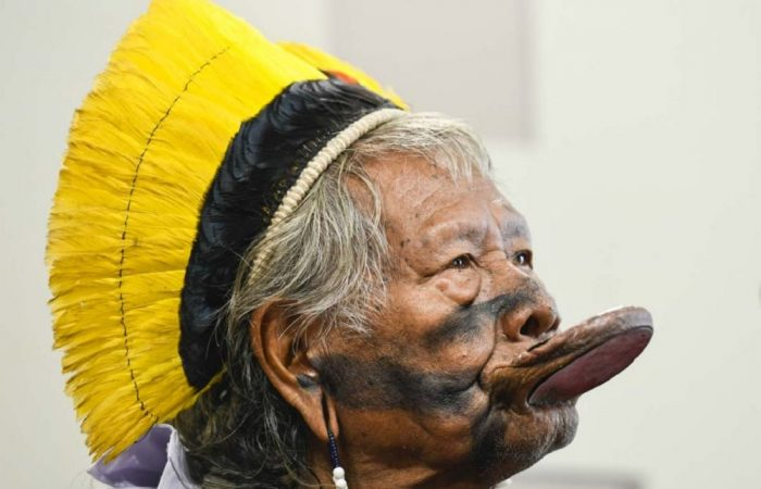 Brazil's indigenous leader Raoni is in 'stable' condition in hospital