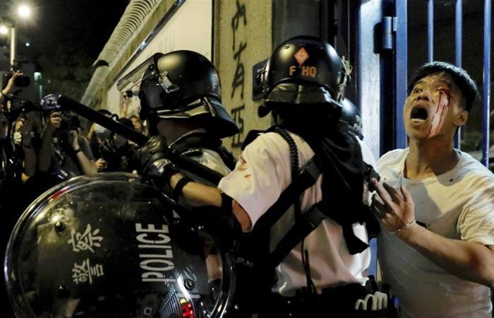Hong Kong police make first arrests under national security law