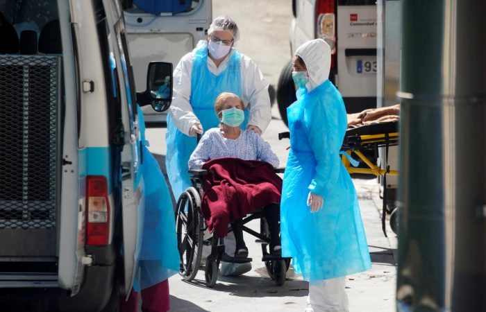 Spain's exhausted medics demand post-virus job security