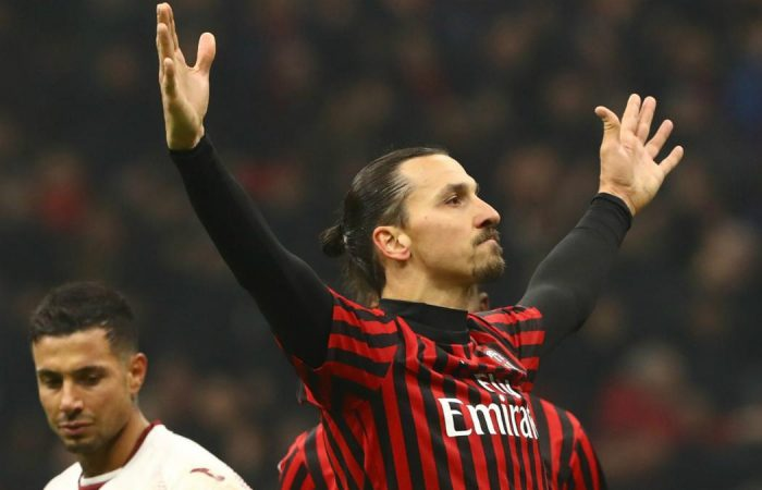 Zlatan returns to Milan with contract extension close