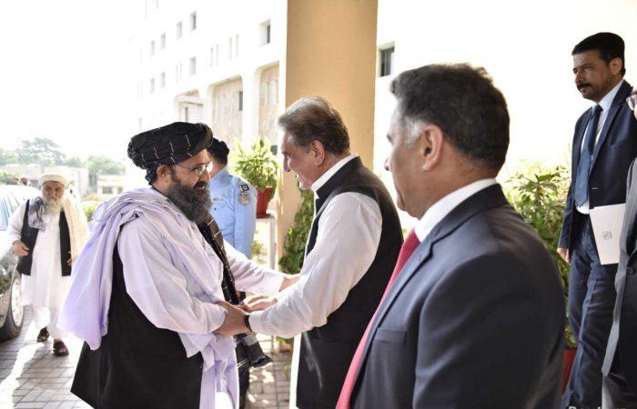 Taliban visit Pakistan to discuss peace process