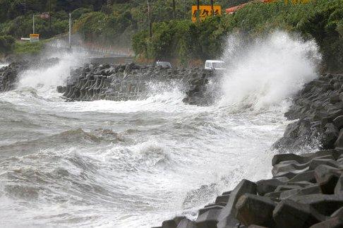 Typhoon Haishen hits South Korea after lashing Japan