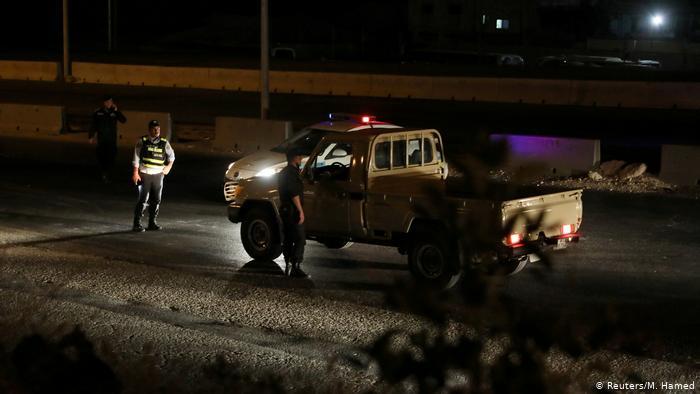 Jordan: Moment an arms depot explodes in Zarqa