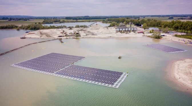 Vattenfall opens its first floating solar farm