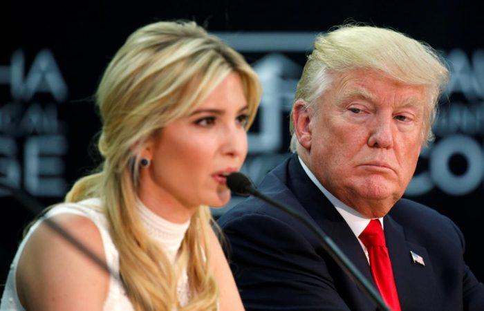 Trump: I never considered running Ivanka as my VP