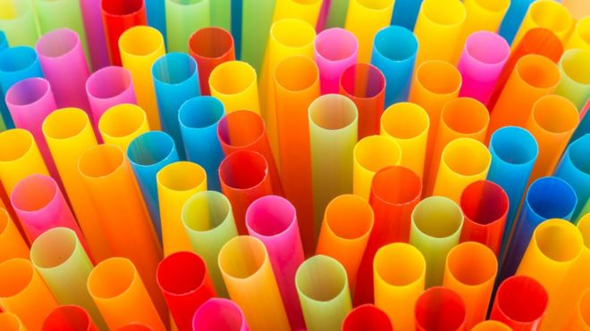 Carbon-zero straws, forks made from greenhouse gases