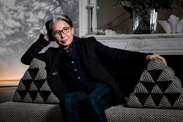 Kenzo Takada, famous designer, dies from COVID-19