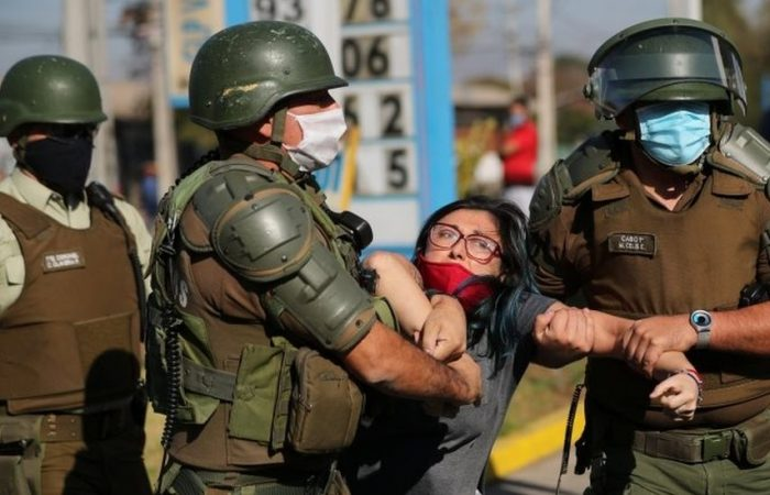Chile's police chief resigns amid allegations of human rights abuses