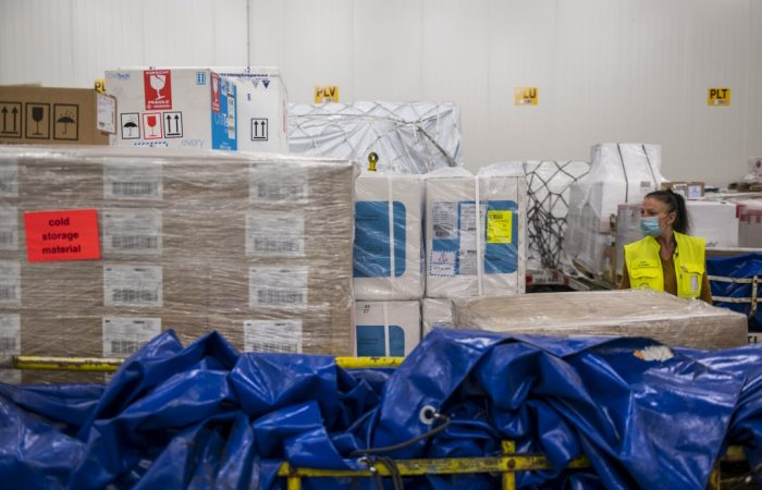 German airport is ready to transport millions of COVID-19 vaccines
