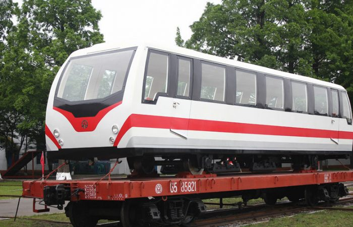 New railway cars will haul tourists up North Korea's 'holy' mountain