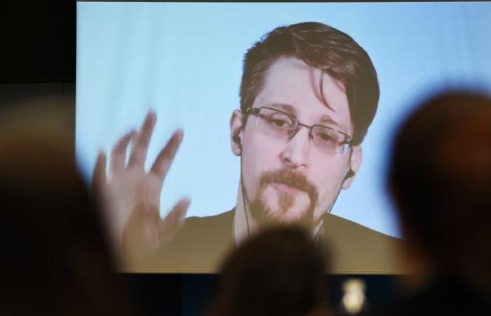 Edward Snowden's wife shares photos of their new son