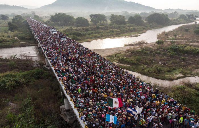 Honduran migrant caravan heading to US